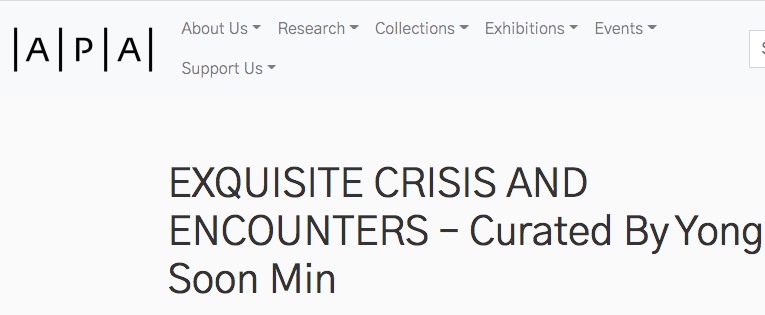 Exquisite Crisis and Encounters