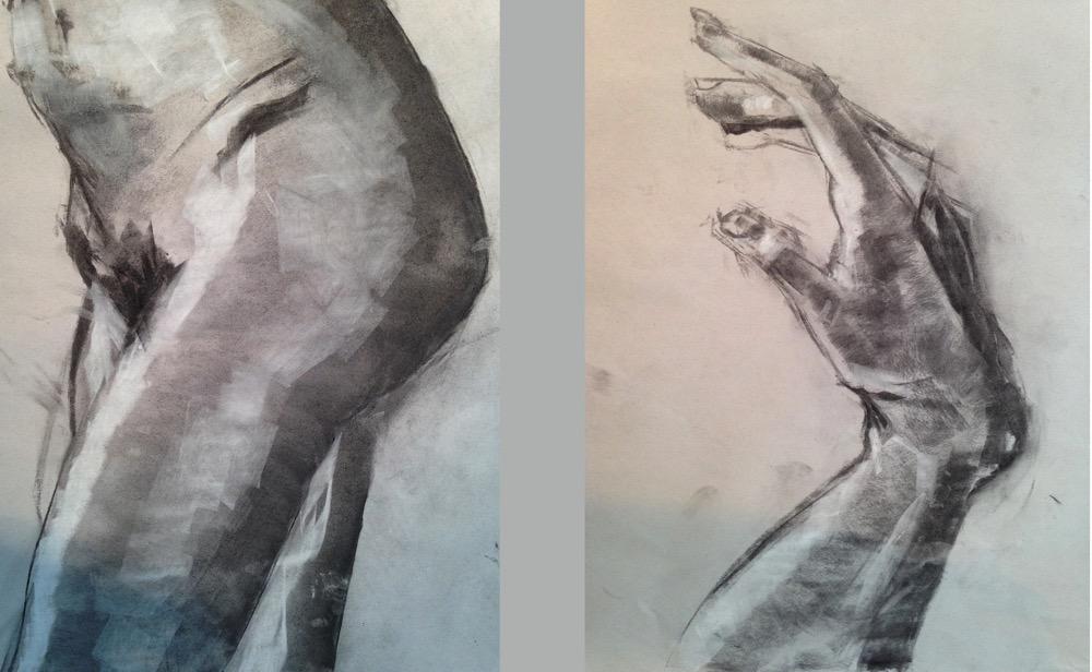 Form Studies - Charcoal