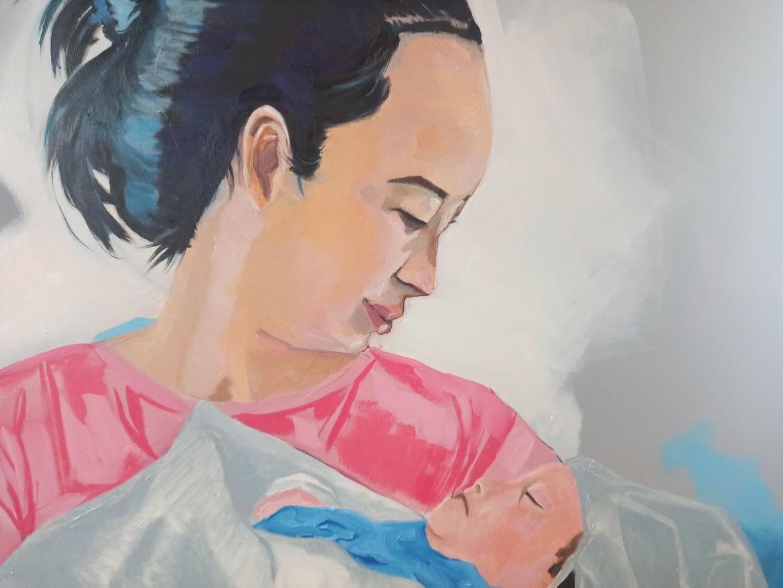 Mẹ và con: Trang and Ry An