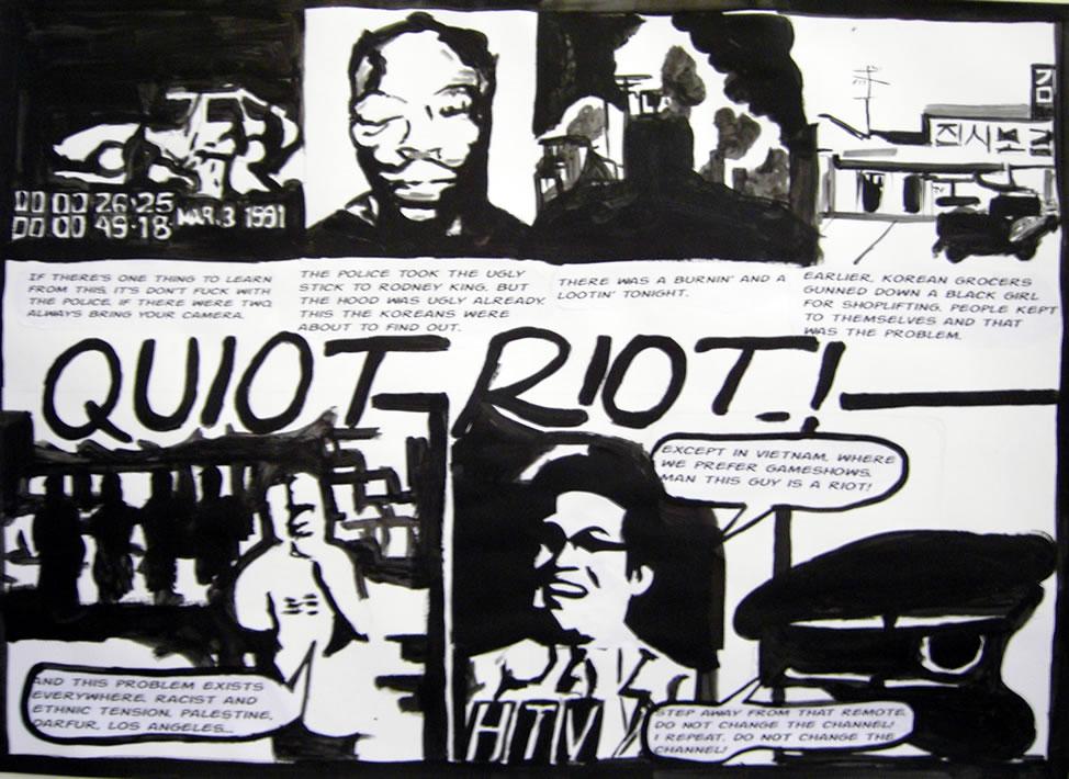 Quiot Riot!