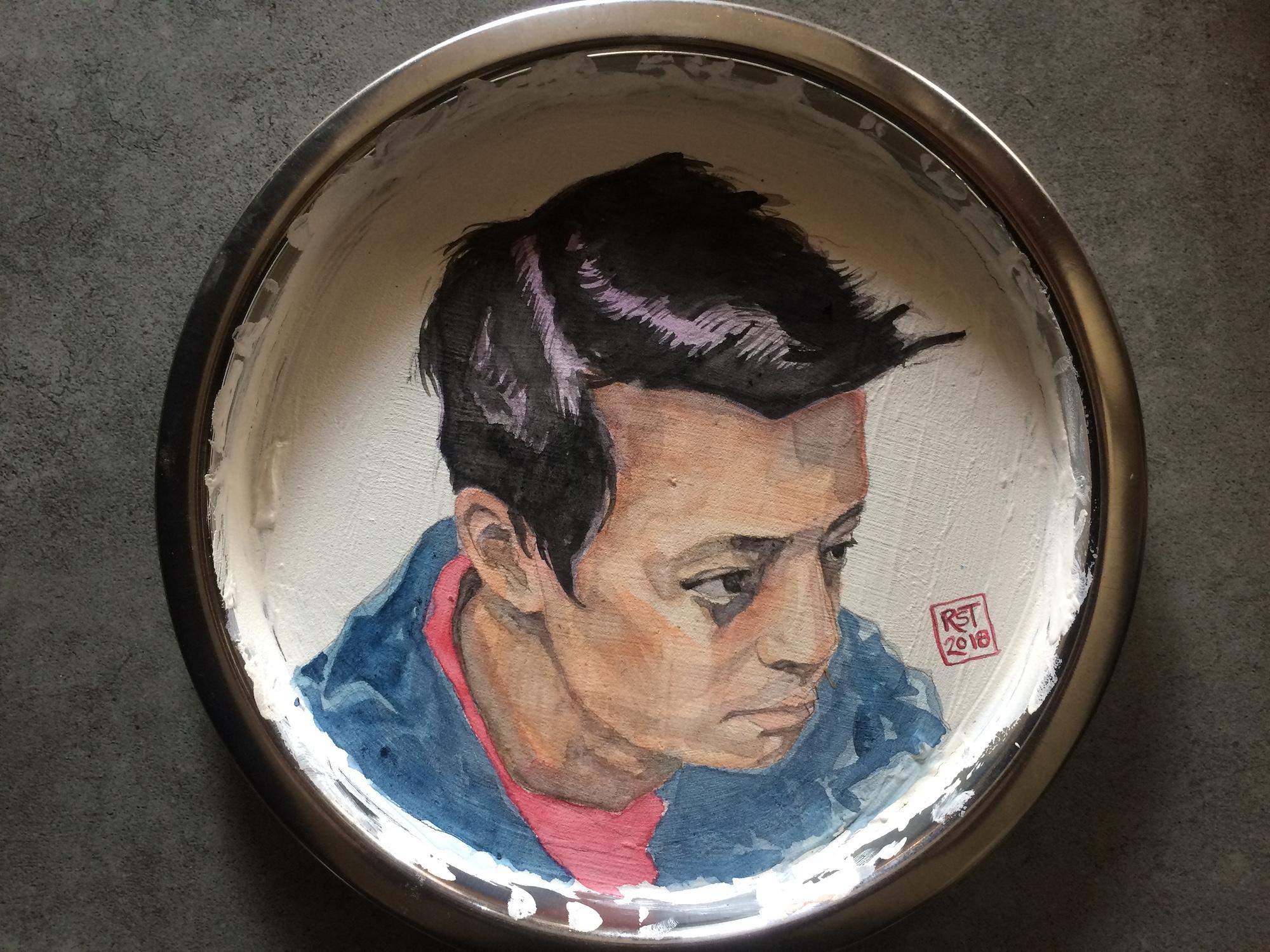 RST Portrait Plate